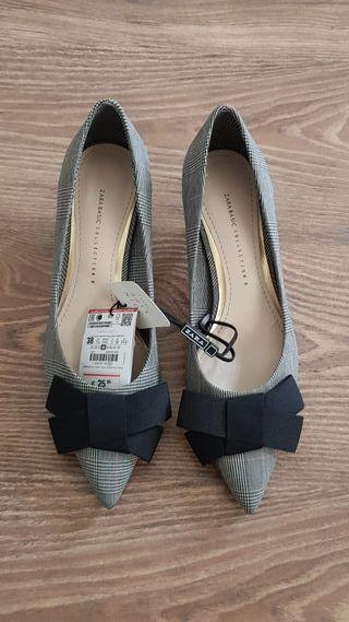 zapatos nuevos de Zara, 38 a estrenar