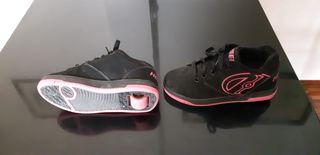 Zapatillas con ruedas Heelys talla 36.5