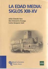 Libros Historia Medieval UNED
