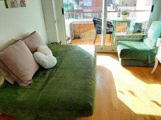 Sofa cama y sillon