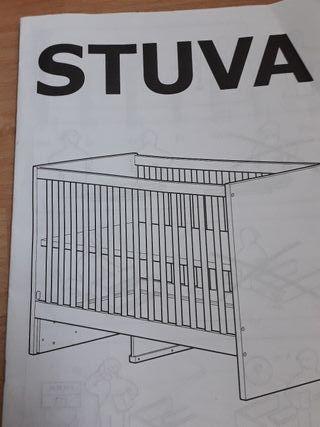 Cuna Ikea stuva 60×120.