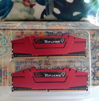 Ram G.Skill Ripjaws V Red DDR4 2400 2x8 16GB