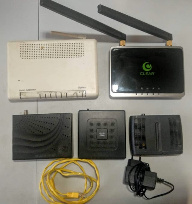 Routers Pack ZTE, Cisco, Thomson, Comtrend