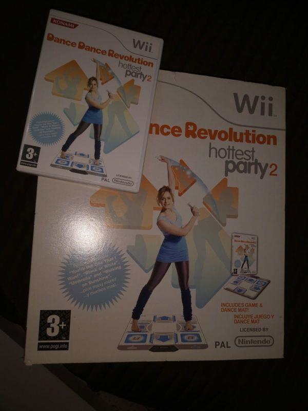 WII Dance Revolution