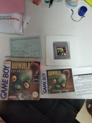 oddworld adventures Gameboy