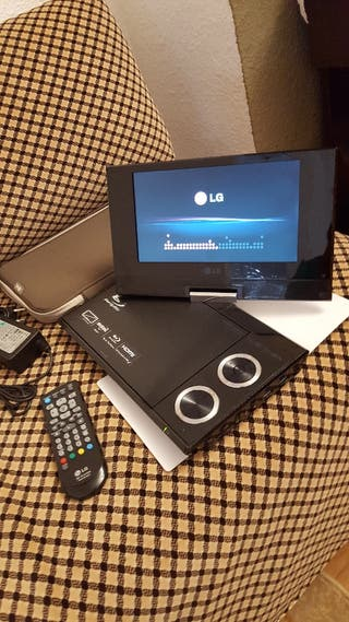 reproductor DVD / BlueRay portátil LG BP691B