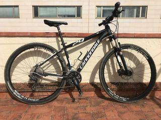 bicicleta btt cannondale nueva