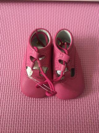 Zapato ingles piel NUEVO talla 18