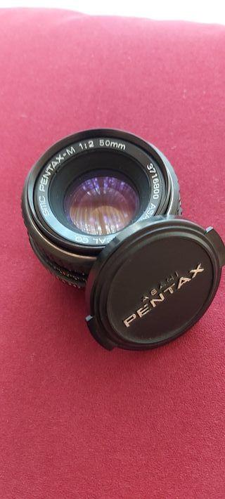 Objetivo Pentax-m 1:2 50 mm
