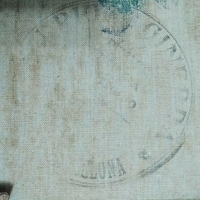 Cuadro pintura lienzo Jesucristo firmado antiguo.