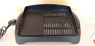 Barbacoa plancha eléctrica sin humos