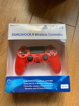 PS4 Wireless Controller- Red