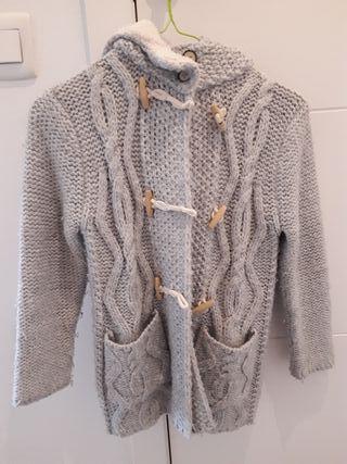 Chaqueta lana niña de Zara