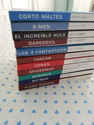 Libros cómic superhéroes