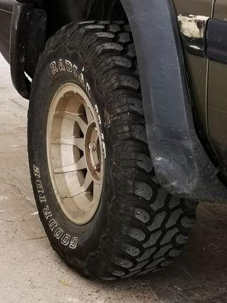ruedas 4x4 medidas 31x10,5x15