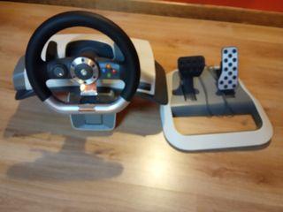 volante y pedales originales xbox