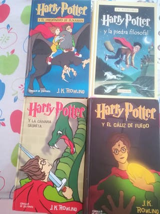 Harry potter, 4 libros
