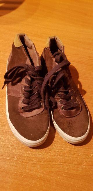 Zapatos niño piel talla 38