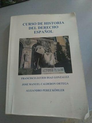 Curso de Historia Del Derecho Español