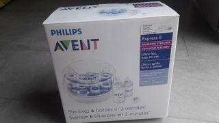 Esterilizador microondas Avent