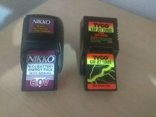 Batería coche teledirigido Nikko y Tyco