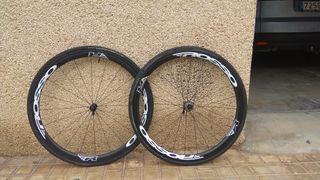 ruedas rosso wheel carbono