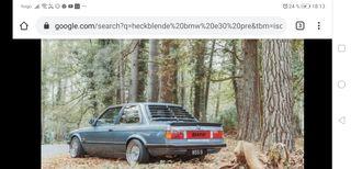 vendo HECKENBLENDE DE BMW E30 PRE