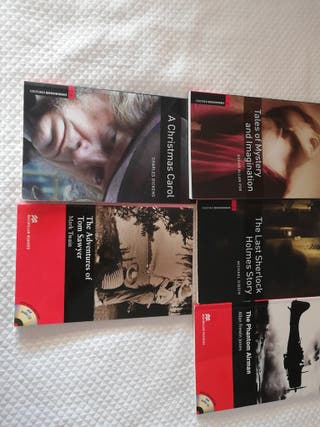 Pack libros de lectura guiada de inglés