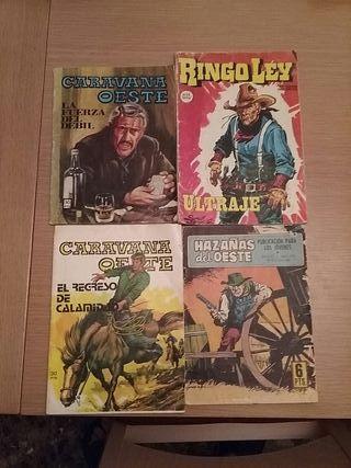 Comics de Western. no envios