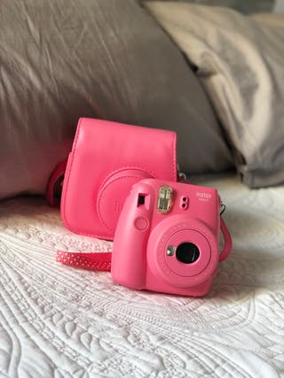Cámara Fujifilm Instax Mini 9+funda