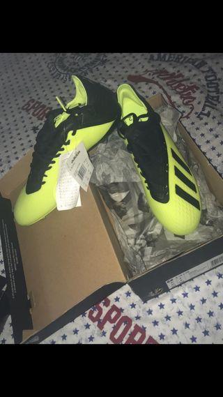 Botas de fútbol Adidas X 18.2 a estrenar