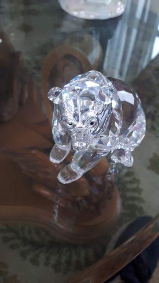 Oso de cristal de Swarovski
