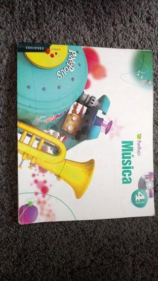 Libro musica 4 primaria
