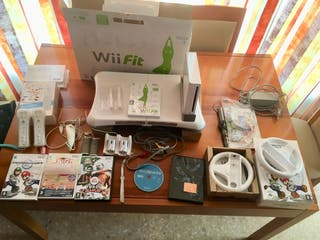 Wii+Wii Balance+Wii Fit Plus+Muchos Extras