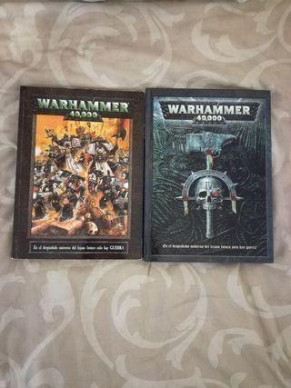 Pack Reglamentos Warhammer 40000