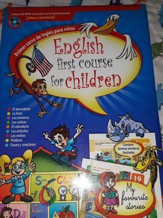 primer curso de inglés para niños