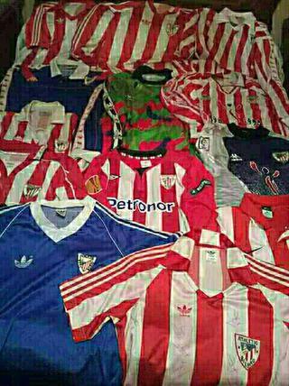 coleccionista camisetas athletic bilbao