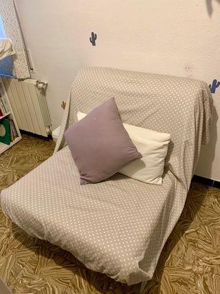 Sillón cama plegable