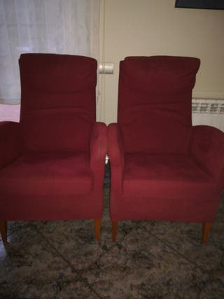 2 sillones. 40€ cada uno.