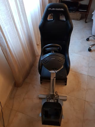 playseat+thrustmaster+pedales