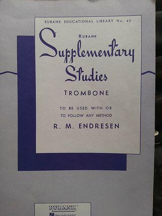Supplementary Studies Trombone