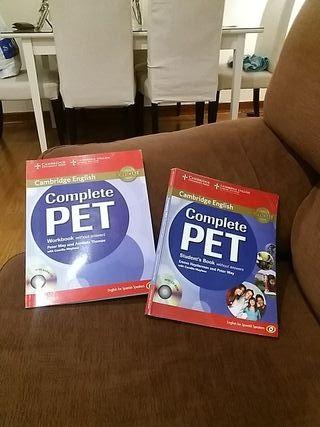 libro inglés complete PET