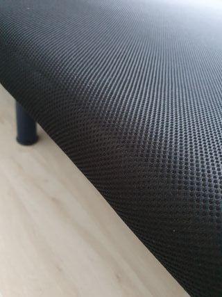 Base tapizada para cama 135x190