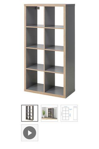 2 x Ikea shelving unit