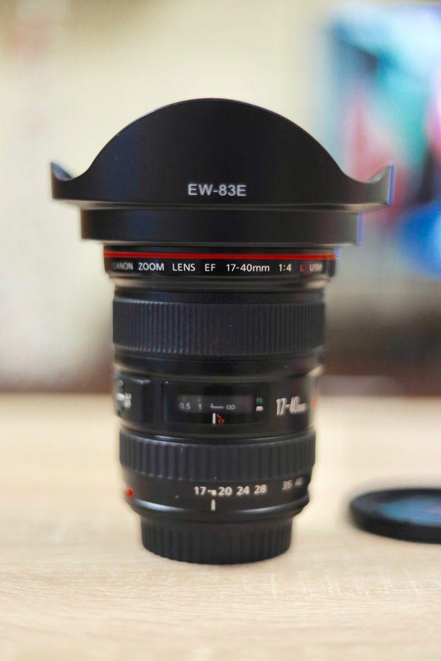 Canon EF 17-40 f4 L USM (REBAJADO)