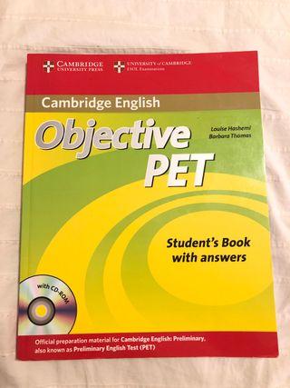 Cambridge English: Objective PET Student's Book
