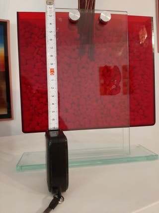 jarrón decorativo moderno rojo