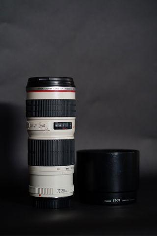 Objetivo Canon 70-200 f4L USM