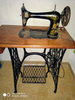 "Máquina de coser ""SINGER"""