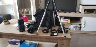 cámara de fotos canon EOS
